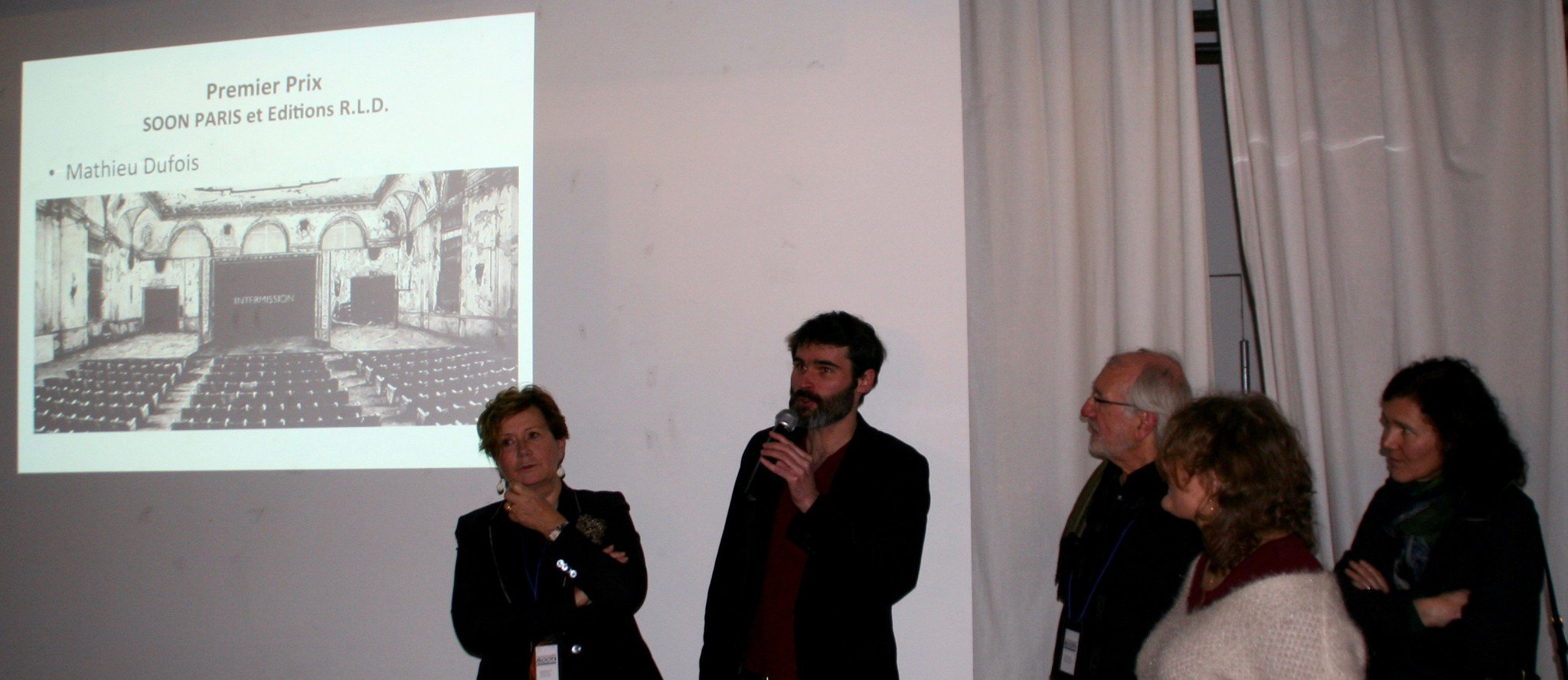 Mathieu Dubois, prix Soon 2015