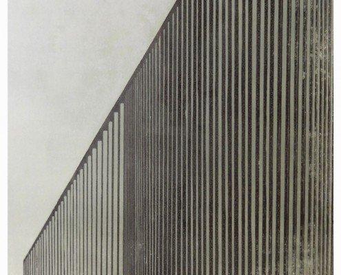 Franziska Neuwert, Industriegebäude gross, 2010, linocut, 5 ex, 60x80 ©Franziska Neubert