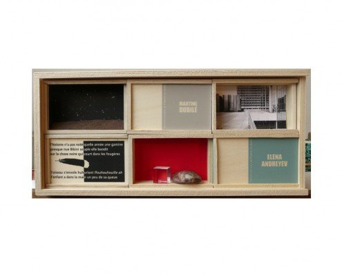 L'oeuvre en main - La boîte Collection, techniques mixtes ©Éditions Peuplier -