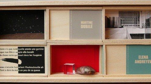 L'oeuvre en main - La boîte Collection, techniques mixtes ©Éditions Peuplier