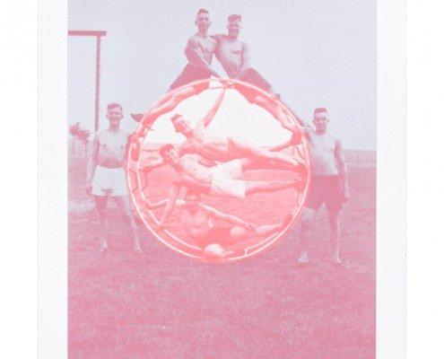 documentation céline duval, Le Cercle, 2015, sérigraphie sur papier Rivoli en 2 couleurs, éd. 100ex, 70x50cm ©A.Mole